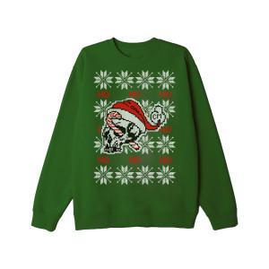 Ho Ho Ho Green Holiday Sweatshirt