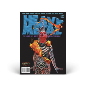 Heavy Metal Magazine - June 2020 Issue (#299) - Cover A