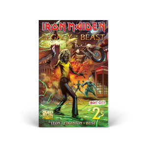 Iron Maiden - Legacy of the Beast - Volume 2 - Issue #2 - Cover A