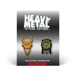 Heavy Metal Set: B Lapel Pins