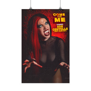 "Limited Edition Ash ""Come For Me"" 11x17"" Movie Poster"