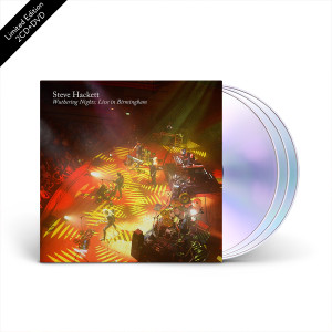 Steve Hackett - Wuthering Nights: Live in Birmingham 2 CD + Blu-Ray Set