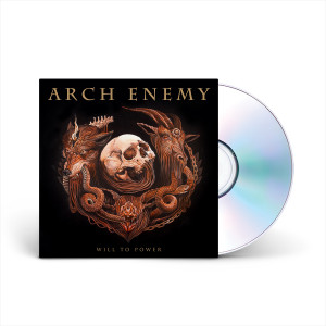Arch Enemy - Will To Power CD + Poster and Sticker Set