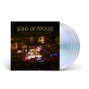 Sons Of Apollo - Live With The Plovdiv Psychotic Symphony 3CD + DVD + Blu-Ray Digipak