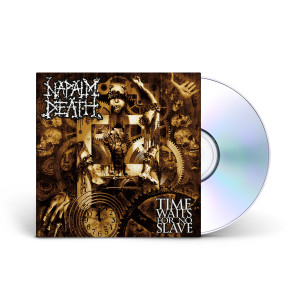 Napalm Death - Time Waits For No Slave CD Jewelcase