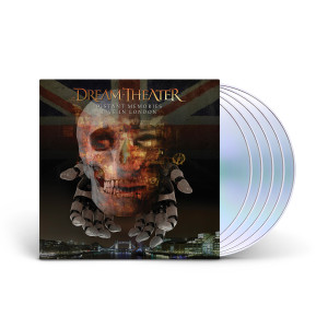 Dream Theater - Distant Memories - Live in London 3CD+2Blu-Ray Digipack