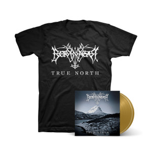 Borknagar - True North Metallic Gold Vinyl 2-LP + T-Shirt