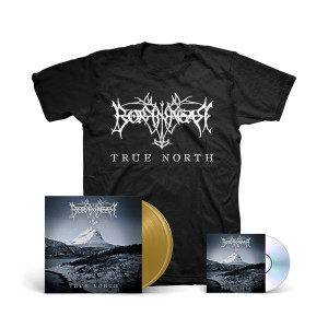 Borknagar - True North Metallic Gold Vinyl 2-LP + Digipak CD + T-shirt