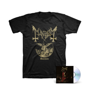 Mayhem - Daemon CD + T-Shirt