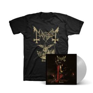 Mayhem - Daemon (Smoke Grey) LP + T-Shirt