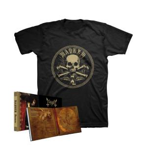 Mayhem - Daemon CD Mediabook with Slipcase + Sigil Tee