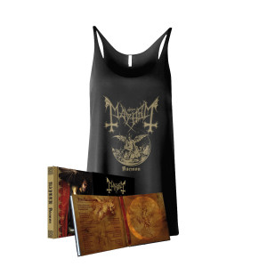 Mayhem - Daemon CD Mediabook with Slipcase + Tank Top