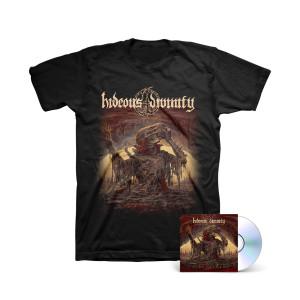 Hideous Divinity - Simulacrum Color T-Shirt + CD
