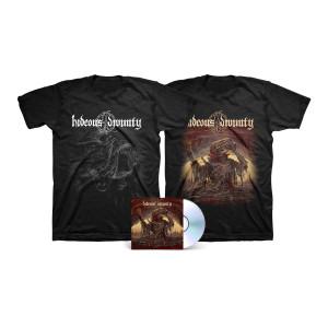 Hideous Divinity - Simulacrum B&W + Color T-Shirt + CD