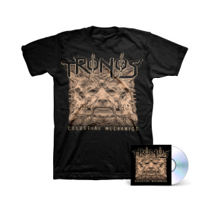 Tronos - Celestial Mechanics CD + T-shirt