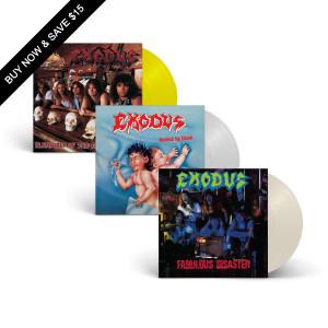 Exodus - Vinyl Re-Issue Bundle