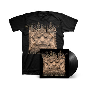 Tronos - Celestial Mechanics LP + T-shirt
