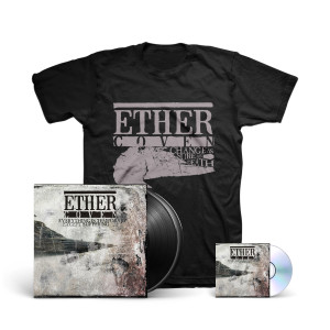 Ether Coven - CASAD T-Shirt + Everything Is Temporary Except Suffering CD + LP