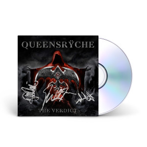 Queensryche - The Verdict Autographed Limited Edition Digipak