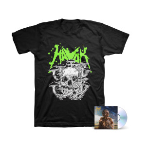 Havok - V 6-Panel Digipak CD + Fungus Tee