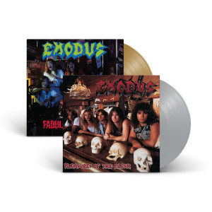 Exodus - Fabulous Disaster Opaque Metallic Gold Vinyl + Pleasures Of The Flesh Opaque Metallic Silver Vinyl
