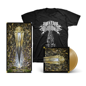 Imperial Triumphant - Alphaville Grand Central Gold Vinyl 2 LP + Poster + Chrysler Building T-Shirt Digital Download