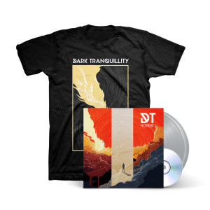 Dark Tranquillity - Moment Silver Vinyl 2LP+CD + Black T-Shirt
