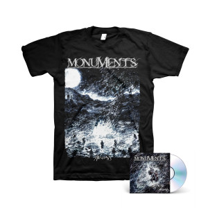 Monuments - Phronesis CD + Black T-Shirt