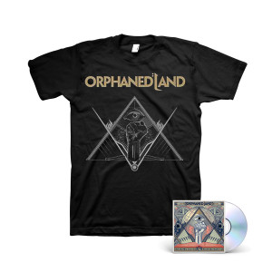 Orphaned Land: Unsung Prophets and Dead Messiahs CD + Black T-Shirt