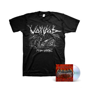 Voivod: The Wake (2-disc) CD + Black T-shirt