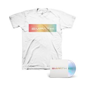 Devin Townsend - Empath 2 CD + White T-shirt