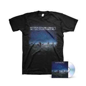 Pattern-Seeking Animals - Self-Titled CD + Album Cover T-shirt