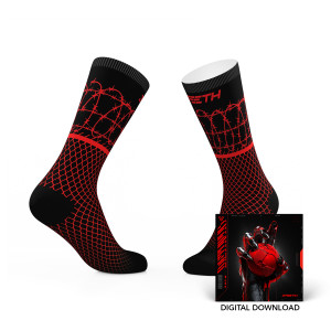 3TEETH METAWAR x Tribe Socks + Digital Download