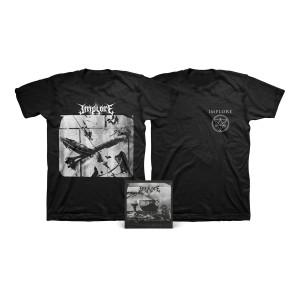 Implore - Alienated Despair Digital Download + Photo T-Shirt + Logo T-Shirt