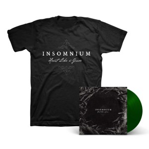 Insomnium - Heart Like a Grave Dark Green Vinyl LP + T-Shirt
