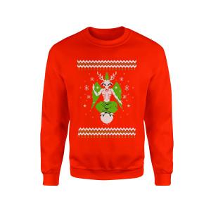 Demon Reindeer - Red Crewneck Sweatshirt