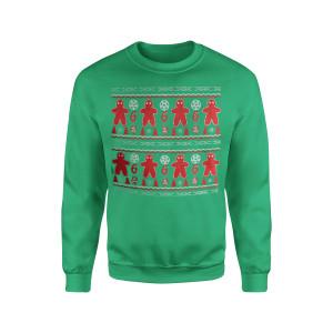 666 - Green Crewneck Sweatshirt
