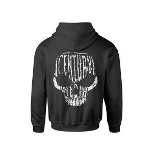 Century Media Skull - Black Pull-Over Hoodie