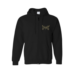 Mayhem - Daemon Zip-Up Hoodie