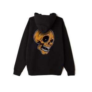Century Media Pumpkin Skull - Black Pullover Hoodie