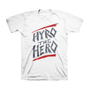 Hyro the Hero - White T-Shirt