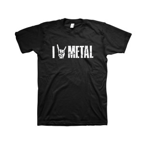 I (Horns) Metal - Black T-Shirt