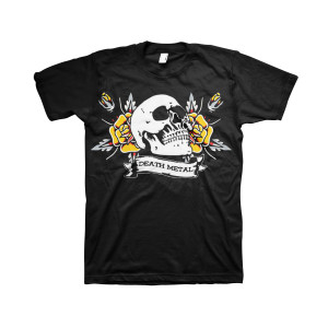 Death Metal - Black T-Shirt