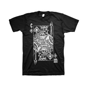 King of Hearts - Black T-Shirt