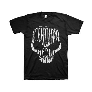 Century Media Skull - Black T-Shirt