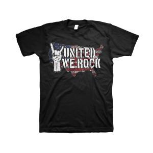 United We Rock - Black T-Shirt