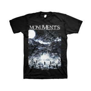 Monuments - Phronesis - Black T-Shirt