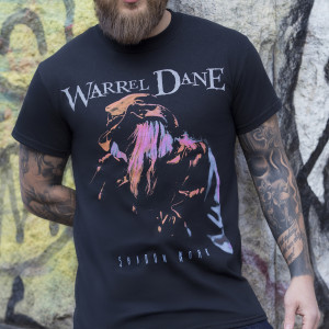 Warrel Dane - Shadow Work - Black T-Shirt