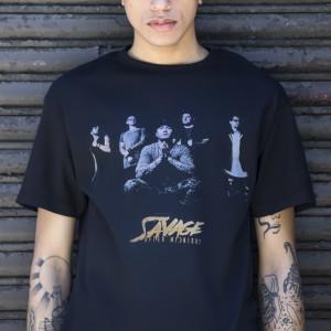 Savage After Midnight - Photo Black T-Shirt