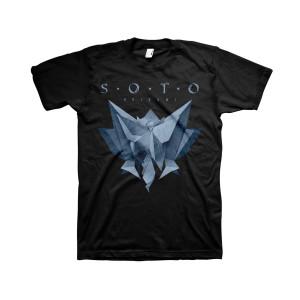 SOTO - Origami Black T-shirt